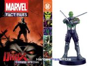 Marvel Fact Files Cosmic Special #6 Drax With Figurine Eaglemoss